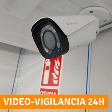 Video vigilados y con alarma individual