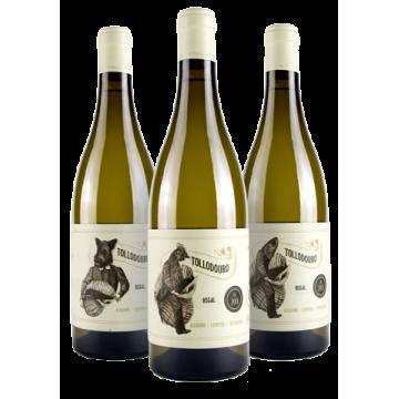 Botella Albariño Tollodouro  D.O. Rias Baixas .
