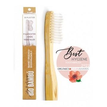 Cepillo de dientes de banbú
