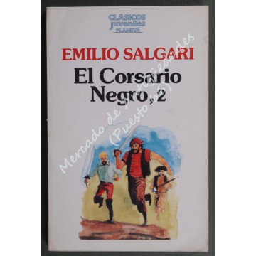El Corsario Negro, 2 - Emilio Salgari